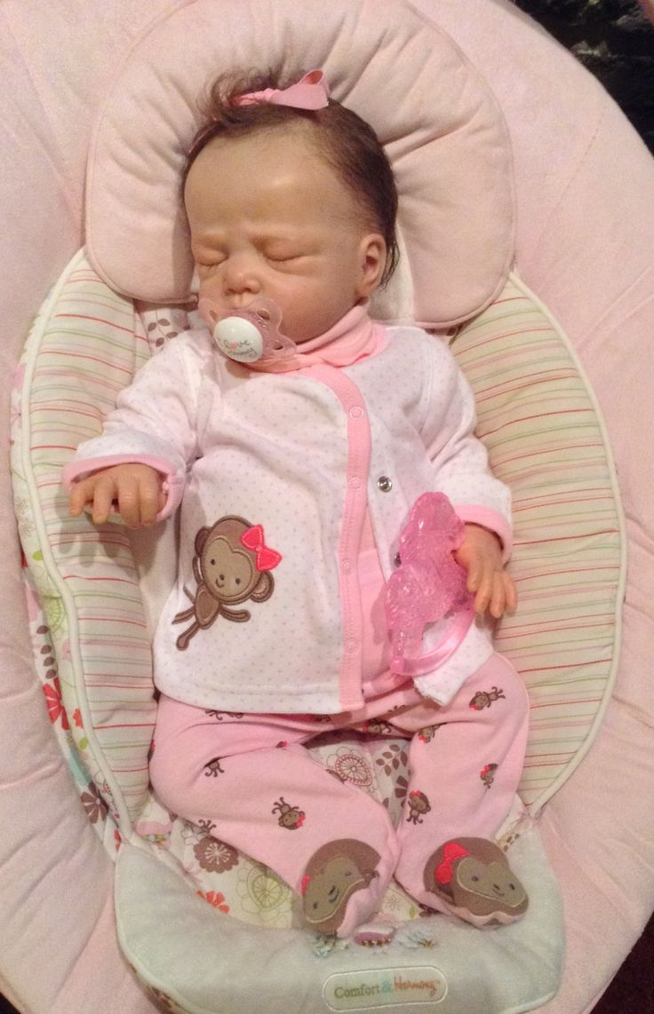 Cute Reborn Baby Doll Soft Silicone 18 Inch Handmade Baby: 1000+ Ideas About Realistic Baby Dolls On Pinterest