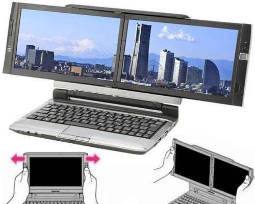 Kohjinsha'S Dual Screen Laptop
