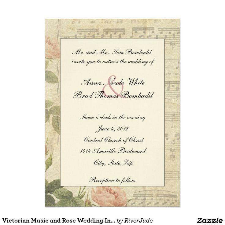 857 best VICTORIAN WEDDING Invitations images on Pinterest | Retro ...