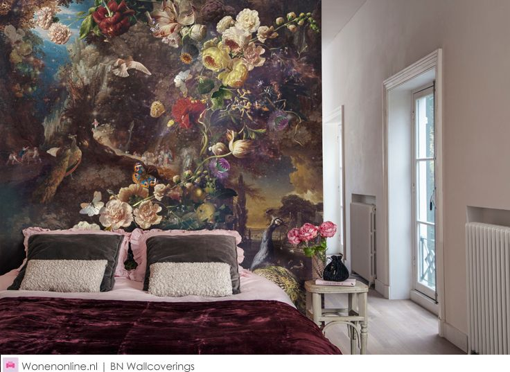 17 best images about wanddecoratie bn wallcoverings wandbekleding behang on pinterest for Home decoration meester
