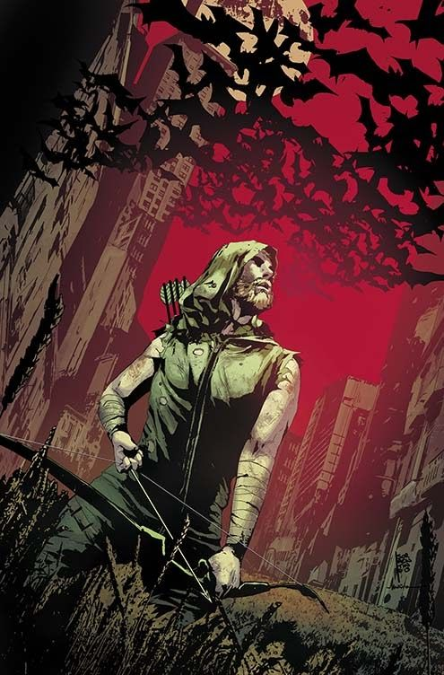 GREEN ARROW #25 Written by JEFF LEMIRE Art and cover by ANDREA SORRENTINO