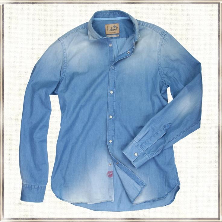 Halibut Shirt - McQueen - Denim Shirt by Halibut