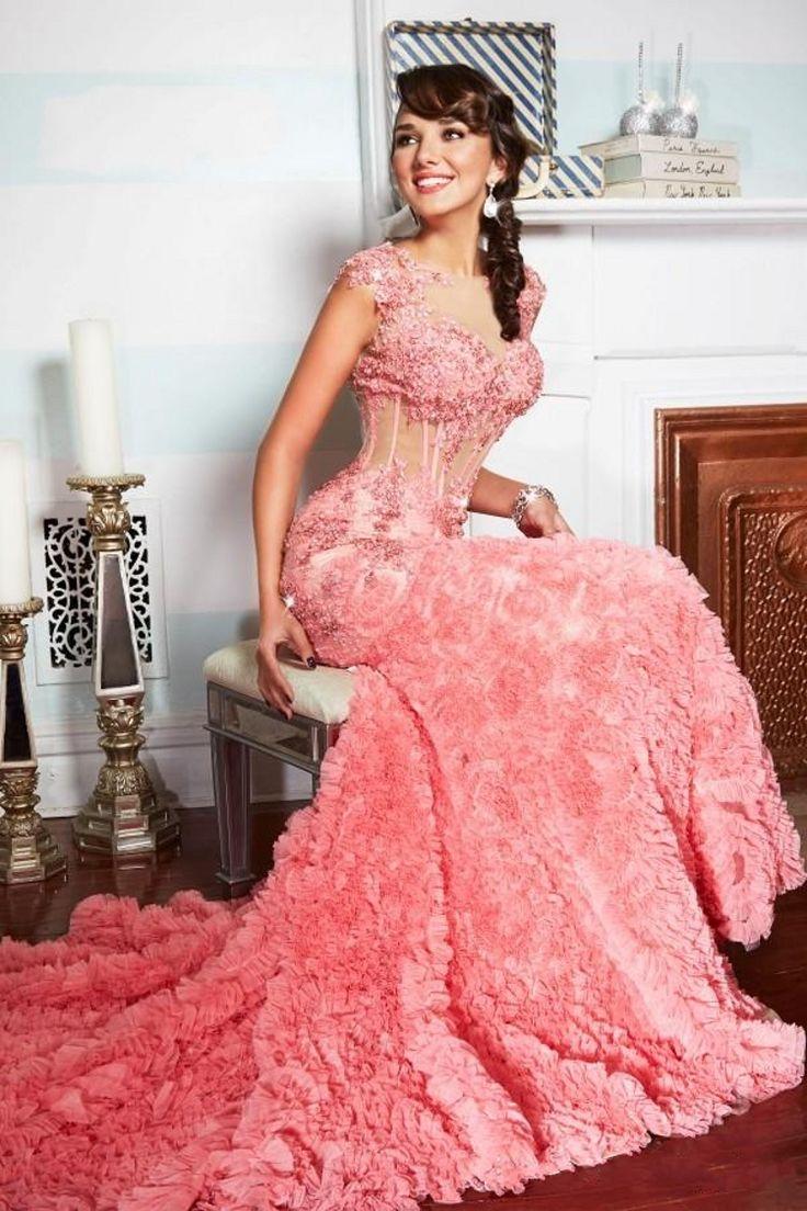 Mejores 31 imágenes de Vestido de Festa ❥ en Pinterest   Vestidos ...