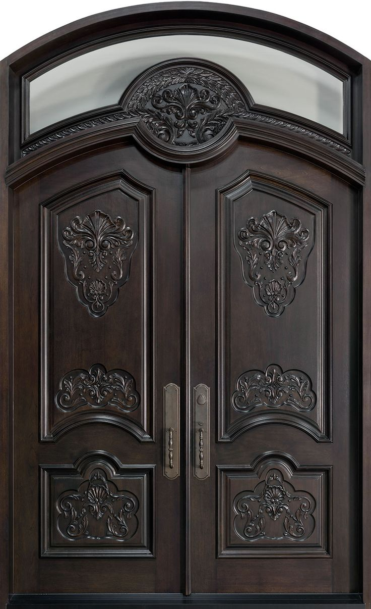 New Heritage Collection Hand Carved Doors » Custom Wood Doors ...