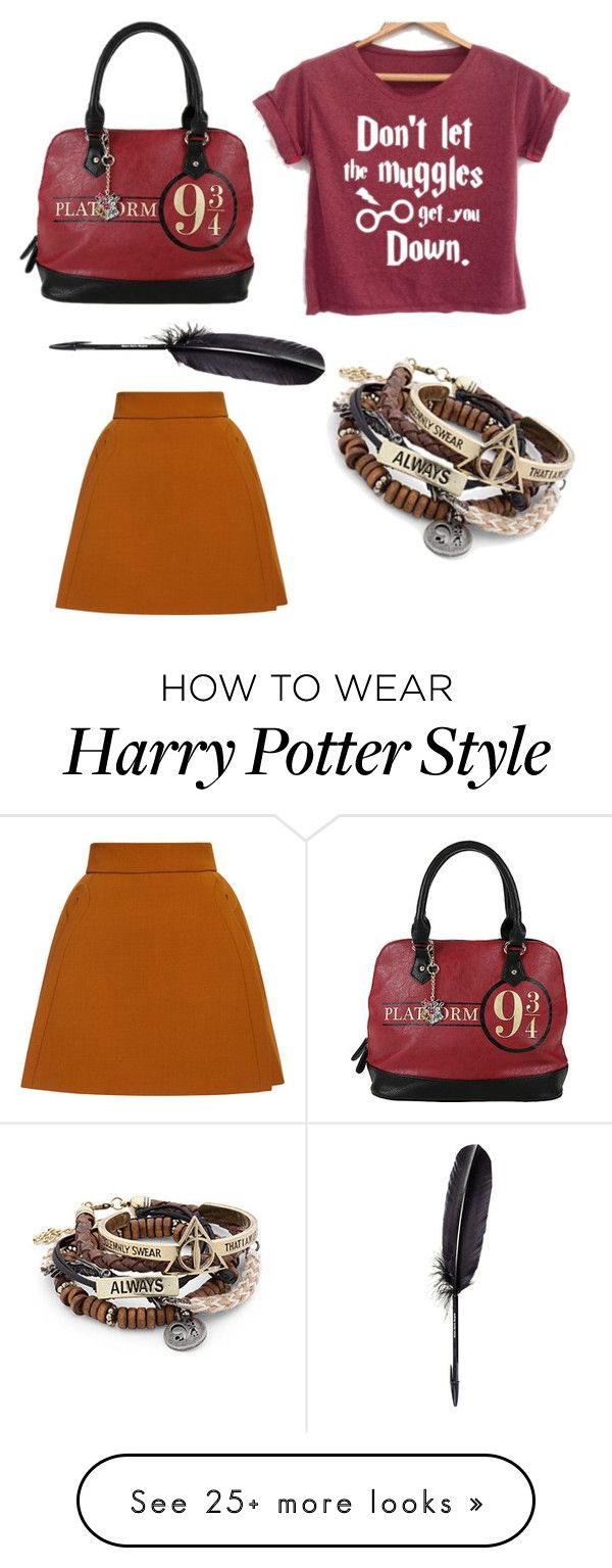 """""""Potterhead leather"""" by uluca on Polyvore featuring Maison Margiela and ADAM"""
