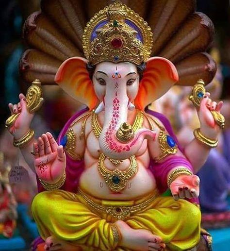 """375 Likes, 12 Comments - cutepie radhika (@gannu_bappa_) on Instagram: """"Bappa Morya """""""
