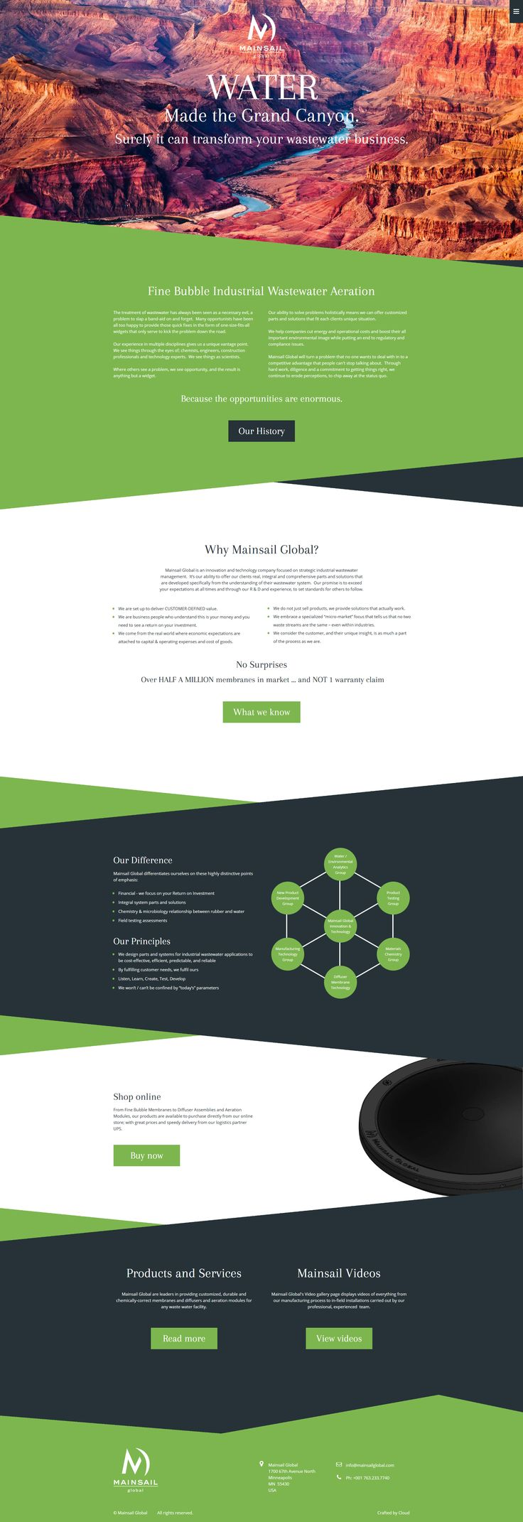 Website created for Mainsail Global in Minneapolis, Minnesota. #website #inspiration #webdesign #minneapolis #minnesota #usa