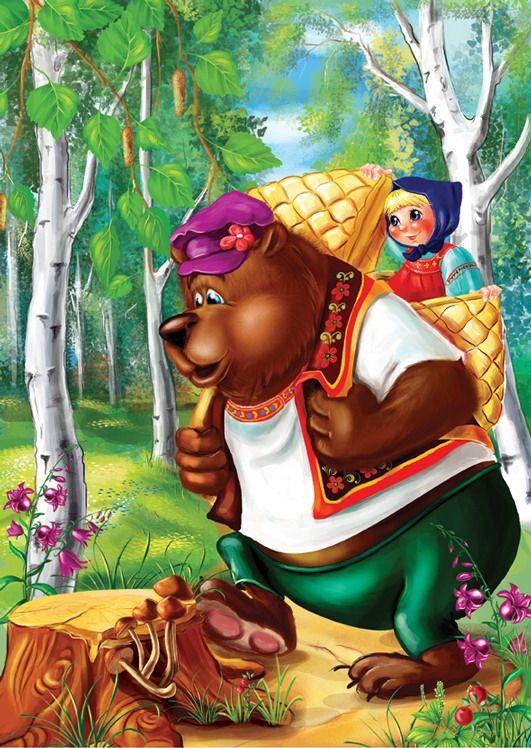 20 besten сказка Маша и медведь Bilder auf Pinterest ...