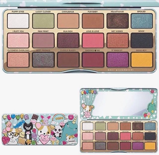 Too Faced The Clover Palette la paleta mas cute de la temporada  imposible perdersela! So Cute! The Clover Palette by Too Faced coming soon!!