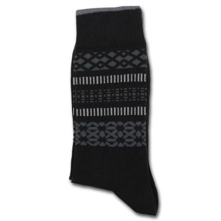 Democratique Socks Originals MONOCHROME 2-pack SELFIE Black / Charcoal / Lightgrey - Shop | Democratique Socks