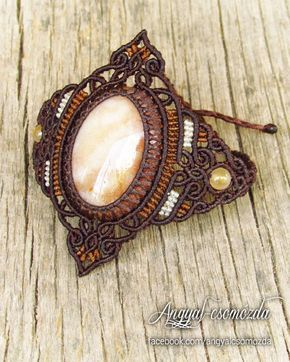 Available on etsy.com/shop/angelknots #angyalcsomozda #micromacrame #macrame #bracelet #macramebracelet #stone #gemstone #coralagate #agatizedcoral #handmade #jewelry #boho #bohemian #tribal #ethnic #festivaljewelry #tribaljewelry #fairy #gipsy #fashion #goa #psy #bohojewelry #hippie