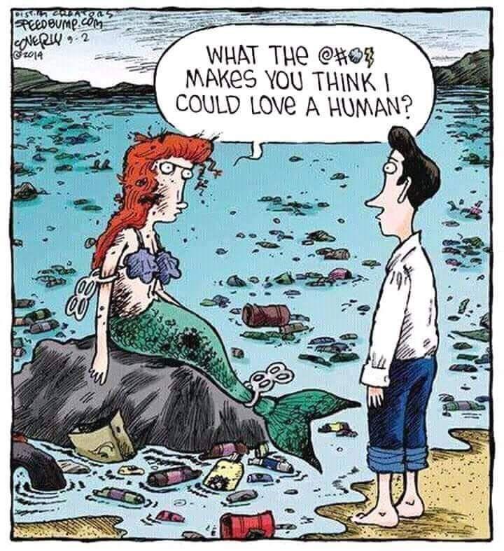 Анекдоты про русалок в картинках