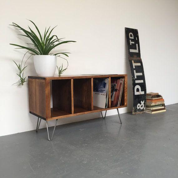 les 25 meilleures id es concernant stockage de vinyle sur pinterest stockage de disque vinyle. Black Bedroom Furniture Sets. Home Design Ideas