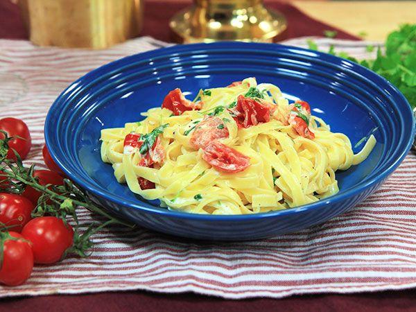 Pasta med tomat och mascarpone   Recept.nu