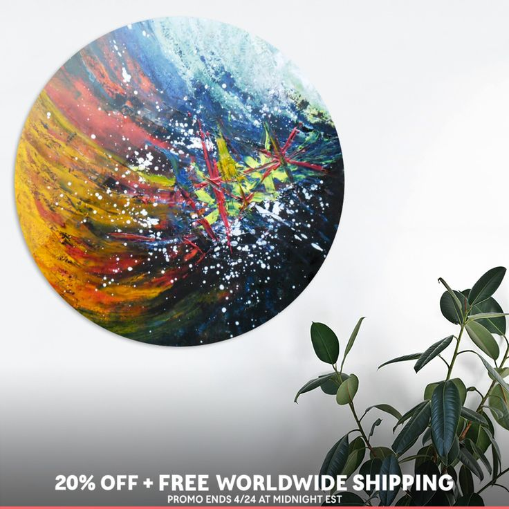 Discover «Breaking free», Exclusive Edition Disk Print by Ildikó Csegöldi Décsei - From $85 - Curioos