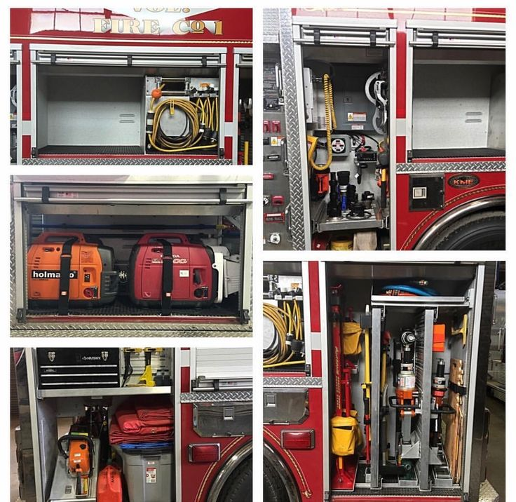 Firefighters tools