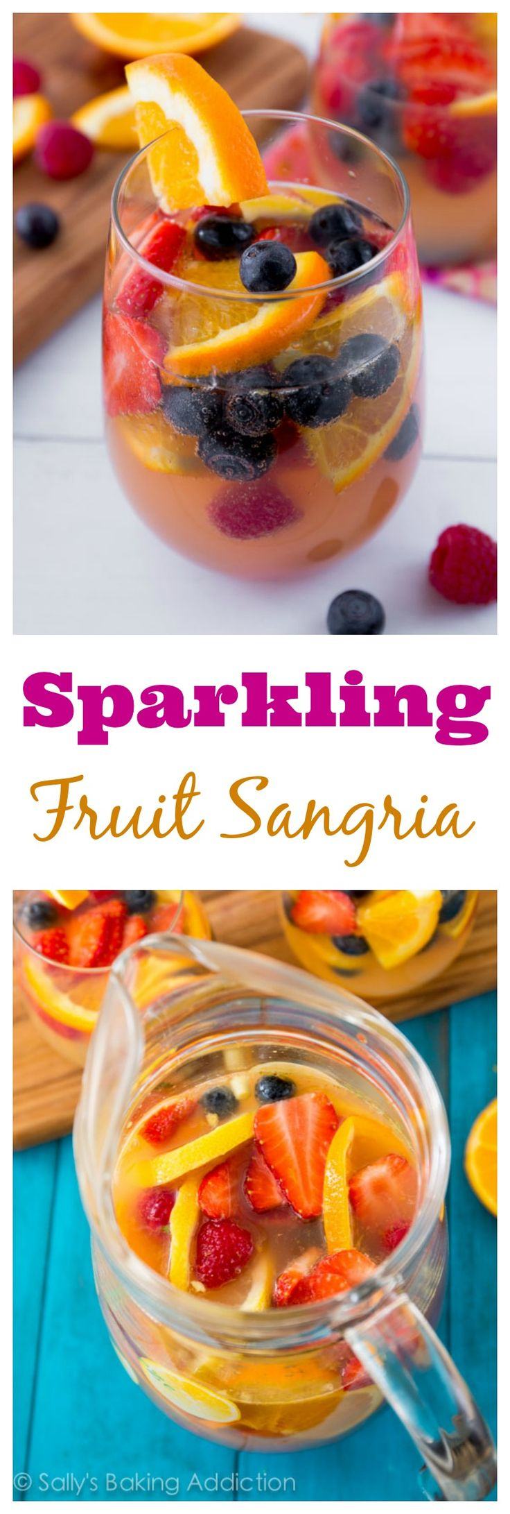 The perfect fruity cocktail for any party or occasion. Everyone always loves it! I never have any leftover.