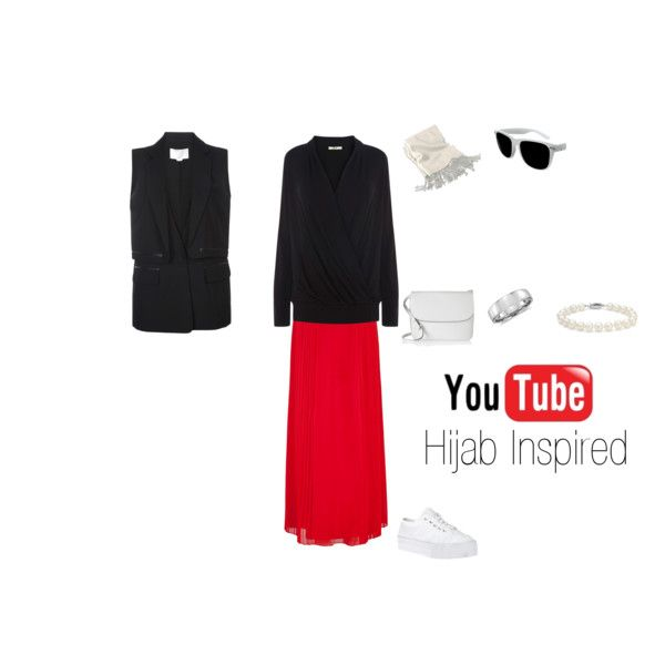 """""""Youtube Hijab Inspired"""" by fabsmusician on Polyvore"""