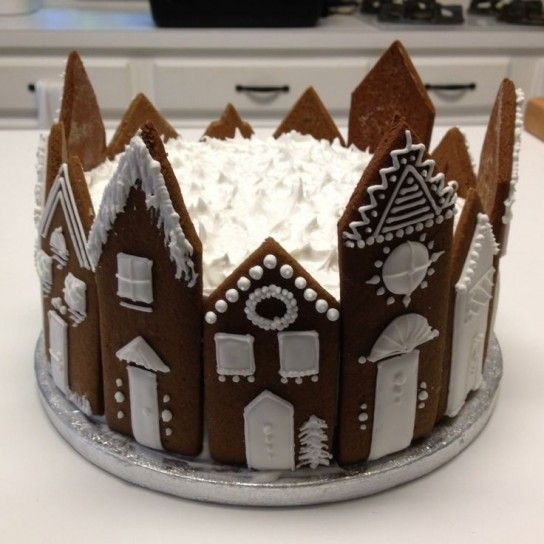 Romantica torta di Natale