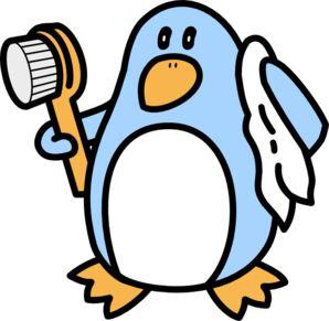 Art for our penguin bathroom?
