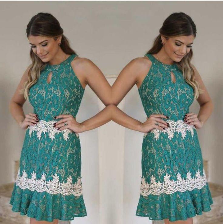 Stylové dámské šaty krajkové zelené – Velikost L Na tento produkt se vztahuje nejen zajímavá sleva, ale také poštovné zdarma! Využij této výhodné nabídky a ušetři na poštovném, stejně jako to udělalo již velké množství …