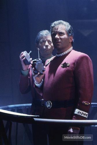 Dr. McCoy (DeForest Kelley) & James T. Kirk (William Shatner) - Star Trek VI: The Undiscovered Country (1991)