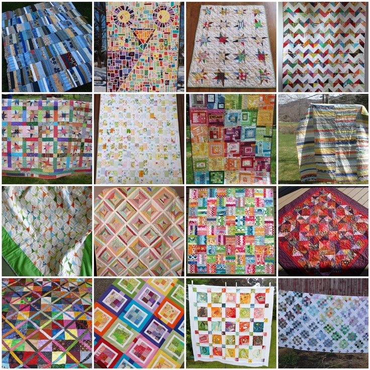 Ariane Quilts: Scrappy Quilts - Inspiration from flickr