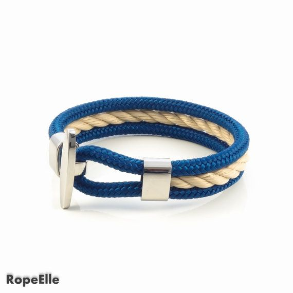 Rope bracelet, Nautical bracelet, Navy bracelet,Paracord, Sale, Gift, Armband, Bracelet, Birthday Jewelry, Sailor bracelet, Couple bracelet