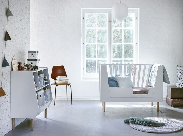 Inspired by the handiwork of the 50's and 60's, Done by Deer has designed three exclusively detailed pieces of furniture for sleeping, nappy changing and storing. All with a delicate retro look that will complement any setting, creating a unique space for your little ones.