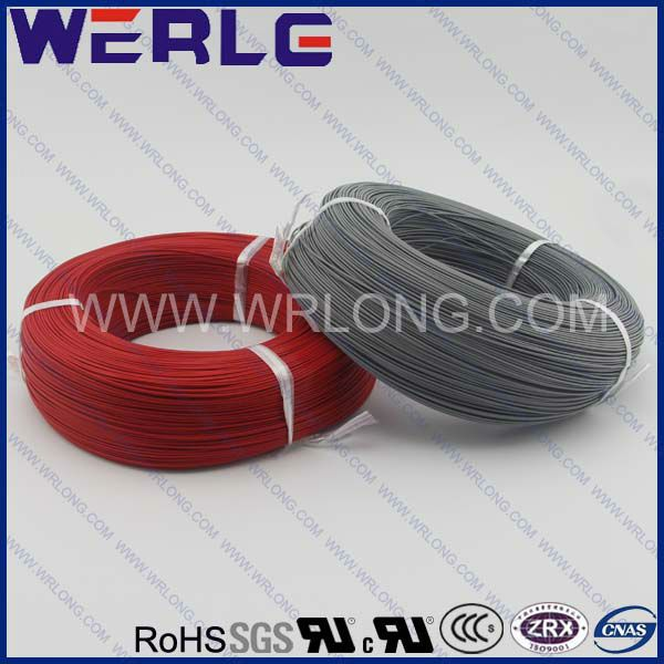 0.12mm2 0.12mm wire AGR High Temperature Silicone rubber insualted solid Wire cabletemperature:-60~+180  Rated voltage:500V