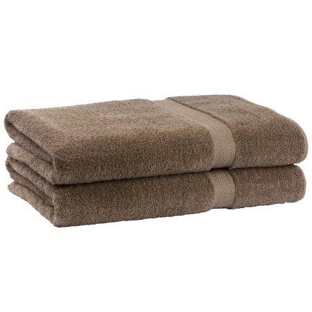 Cambridge Grand Egyptian Egyptian Cotton Towel Set (Set of 2), Beige