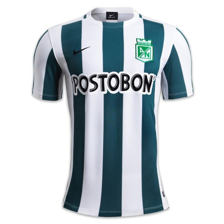 Camiseta de Juego Local Niño Nike 2015: 1409762 Atlético Nacional
