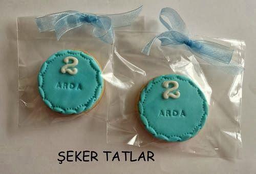 Mini Boy Doğum günü kurabiyeleri...