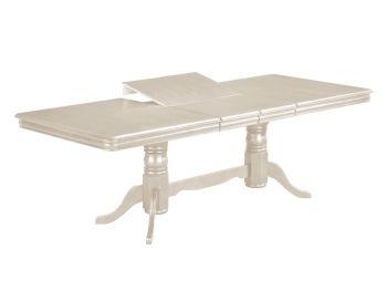 Стол обеденный раскладной Вивьен цвет кремовый бесплатно доставка + подарок инфракрасный керамический обогреватель