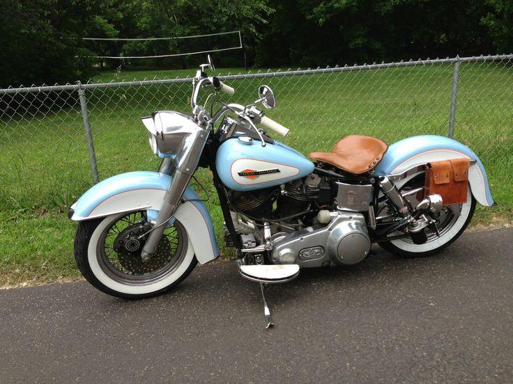 Harley-Davidson : Touring 1975 Harley  Davidson FLH Shovelhead custom