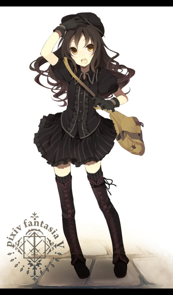 564 best images about anime on pinterest - Dark anime girl pics ...