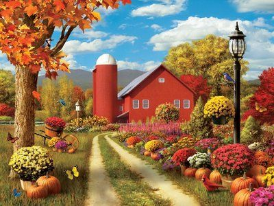"""Memory Lane: Autumn Splendor"" by Alan Giana"