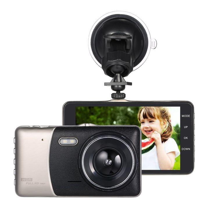 "Best KKMOON 4"" Dual Lens Car Sale Online Shopping | Cafago.com"