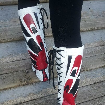 cree nisga'a clothing: Purses Accessories, Native, Clothing Sho, Cree Nisga A, Northwest Coast, Moccasins Trail, Westerns Clothing, Coast Art, Aboriginal Art
