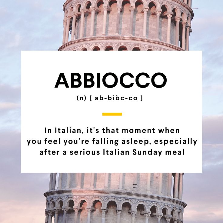 Is food coma's hitting you right now? Then you are suffering from abbiocco! #WordOfTheDay #Italian