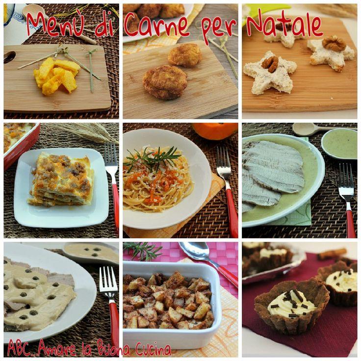 Il menù di carne per Natale è una raccolta di ricette di tutte le portate per il pranzo di Natale. Tanti piatti per comporre il menù perfetto.
