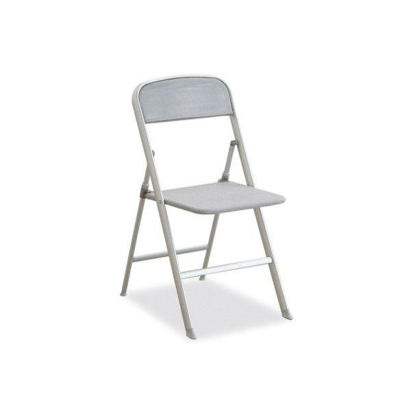 Sedia pieghevole in alluminio da cucina Calligaris Alu - E' adatta alla cucina o al monolocale. E' leggerissima e resistente della gamma Connubia Calligaris. La struttura è in alluminio, mentre il sedile e lo schienale sono in Net. Questa sedia pieghevole è dotata di una seduta molto confortevole.