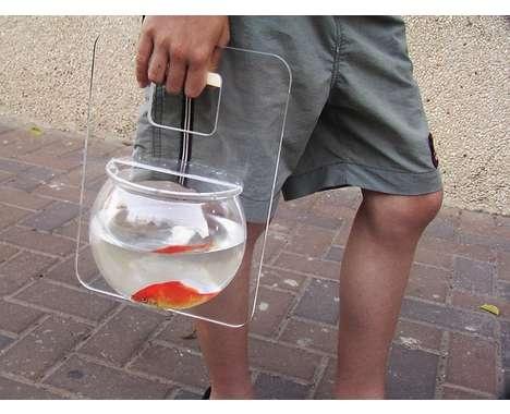 People amaze me. Fishbowl purse.