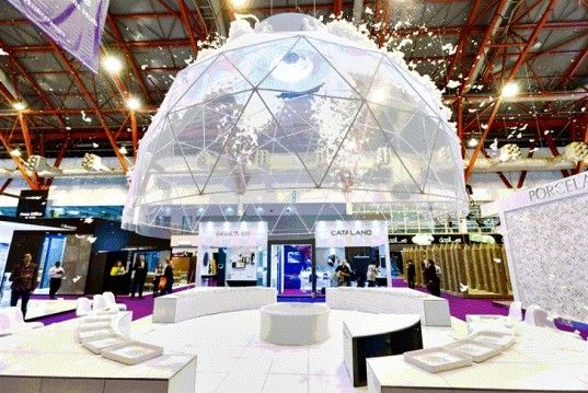 Frothy Geodesic Foam Dome is a Bubble Bath in the Sky