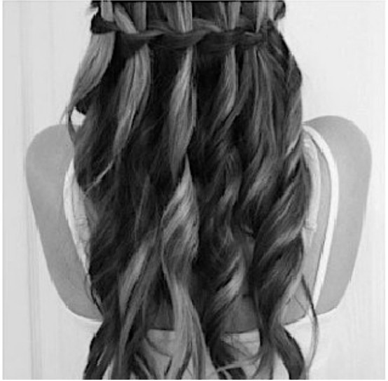 grad hair #1