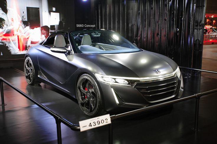 ホンダ・S660【東京オートサロン2015】