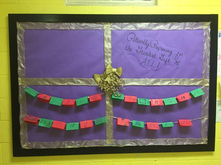 Advent Calendar Bulletin Board : Best images about bulletin board ideas on pinterest