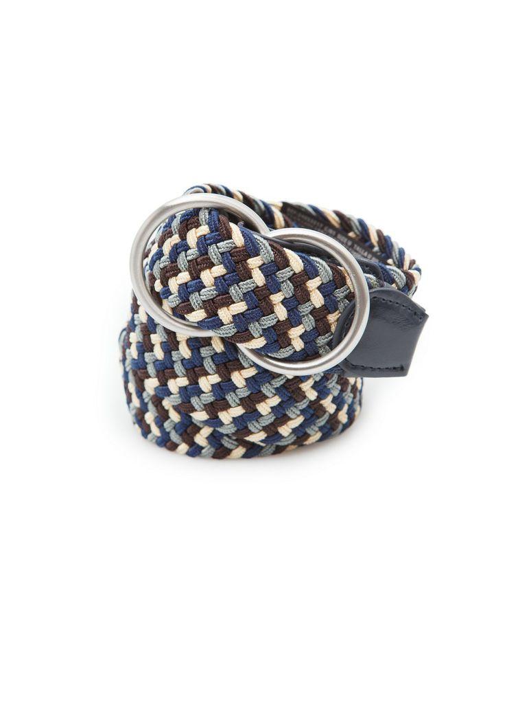 Woven belt REF. 23053517 - Xavier c VND749,000 Colour: Navy