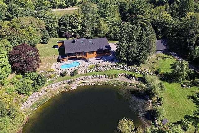 Magically Nestled On 27 Hand-Groomed Acres Of Privacy, Surrounded By The Finest Protected Conservation Lands In Uxbridge