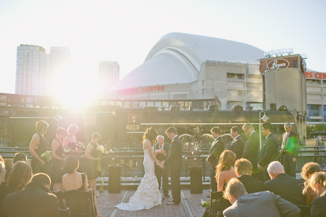 Almost like having the entire Toronto witness your wedding ?